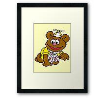 Muppet Babies - Fozzie Bear - Crawling Framed Print