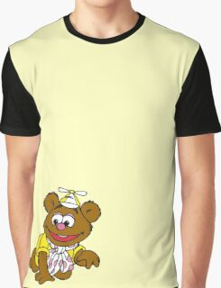 Muppet Babies - Fozzie Bear - Crawling Graphic T-Shirt