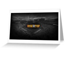 Rise to the top Greeting Card