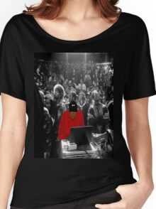 Kanye Dropping Beats Women's Relaxed Fit T-Shirt