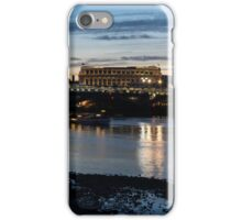 British Symbols and Landmarks - Cruising Under the Blackfriars Railway Bridge at Low Tide iPhone Case/Skin