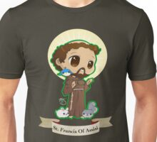 Chibi St. Francis of Assisi Unisex T-Shirt