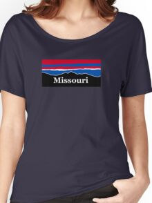 Missouri Red White and Blue Women's Relaxed Fit T-Shirt