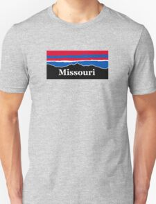 Missouri Red White and Blue Unisex T-Shirt