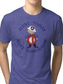 Mr Civil Defense Says... Tri-blend T-Shirt