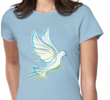 Ukrainian Dove Womens Fitted T-Shirt