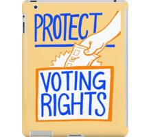 Protect Voting Rights iPad Case/Skin