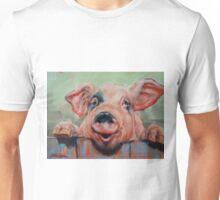 Perky Pig Unisex T-Shirt
