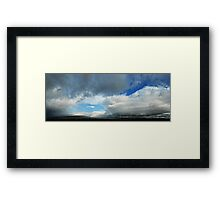 HCS Divided Sky HONFX© Framed Print