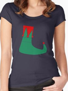 Don't be a cotton headed ninny muggins funny nerd geek geeky Women's Fitted Scoop T-Shirt