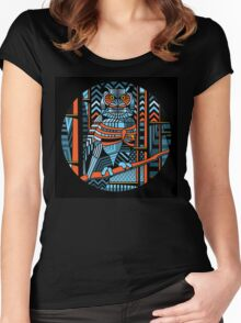 keeper of the forest Women's Fitted Scoop T-Shirt