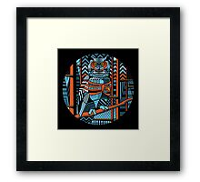 keeper of the forest Framed Print