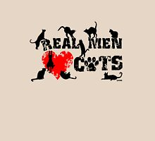 Real men love cats, cats have 9 lives Unisex T-Shirt