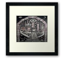 Passage to Invisible City Framed Print