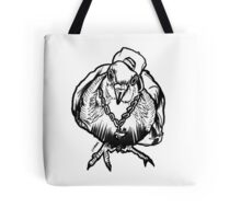 Homie Pigeon (Black & White) RedBubbleArtParty Tote Bag