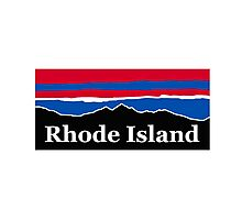 Rhode Island Red White and Blue Photographic Print