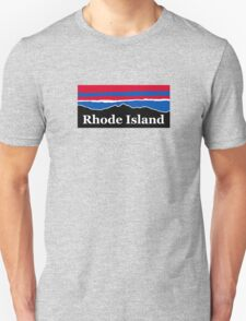 Rhode Island Red White and Blue Unisex T-Shirt