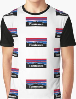 Tennessee Red White and Blue Graphic T-Shirt