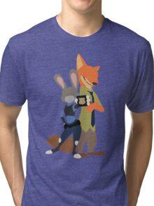 Judy and Nick Tri-blend T-Shirt