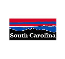 South Carolina Red White and Blue Photographic Print
