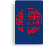 Settle It In Smash funny nerd geek geeky Canvas Print