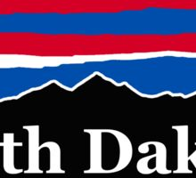South Dakota Red White and Blue Sticker