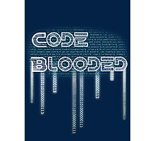 Code Blooded Photographic Print