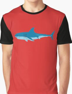 Shark Surfer funny nerd geek geeky Graphic T-Shirt