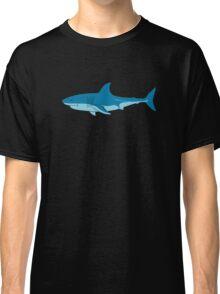 Shark Surfer funny nerd geek geeky Classic T-Shirt
