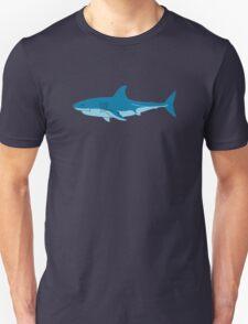 Shark Surfer funny nerd geek geeky Unisex T-Shirt