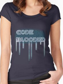 Code Blooded Women's Fitted Scoop T-Shirt