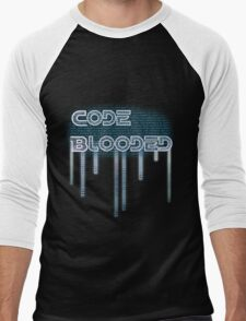 Code Blooded Men's Baseball ¾ T-Shirt