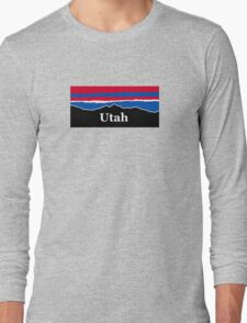 Utah Red White and Blue Long Sleeve T-Shirt