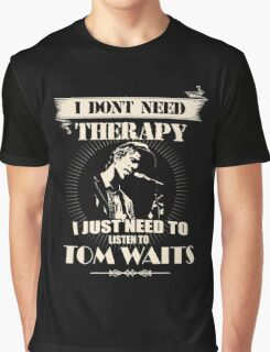 TOM WAITS'FANS Graphic T-Shirt