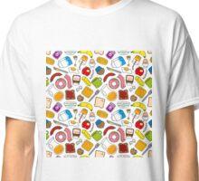 Kawaii breakfast pattern!! Classic T-Shirt