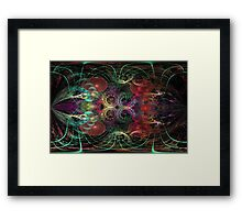 DA FS Around Circles And Gravity Waves ONFX© Framed Print