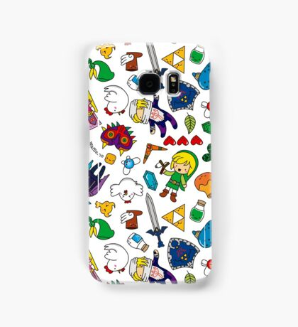Cute Legend of Zelda pattern!!! Samsung Galaxy Case/Skin