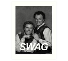 Step Brothers Swag Art Print