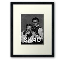 Step Brothers Swag Framed Print