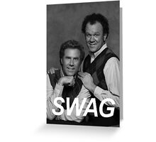 Step Brothers Swag Greeting Card