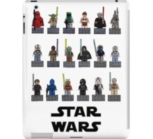Star wars lego iPad Case/Skin
