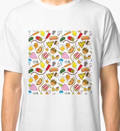 Kawaii junk food pattern! Classic T-Shirt