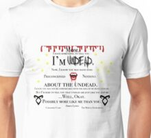 Simon Lewis Quote- The Mortal Instruments Unisex T-Shirt