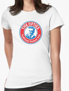 The Fifties Steamed Ham Womens Fitted T-Shirt