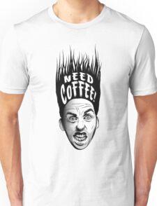 Need Coffee! Long Black version Unisex T-Shirt