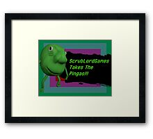 ScrubLordGames Posters/Stickers Framed Print