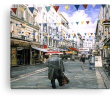 Rue de la Natividad Canvas Print