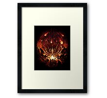 Chrono Trigger: Fire Rains from the Heavens [Chronicles of Time] Framed Print