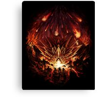 Chrono Trigger: Fire Rains from the Heavens [Chronicles of Time] Canvas Print