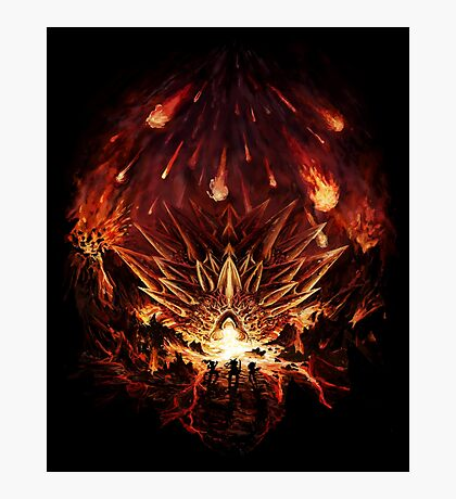Chrono Trigger: Fire Rains from the Heavens [Chronicles of Time] Photographic Print